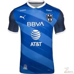 Jersey Puma de Rayados de Monterrey de Visitante Azul