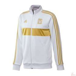 Chamarra Adidas de Tigres de UANL de Gala Blanca