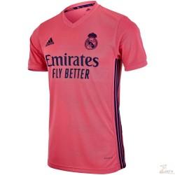 Jersey Adidas del Real MAdrid de Visitante Rosa