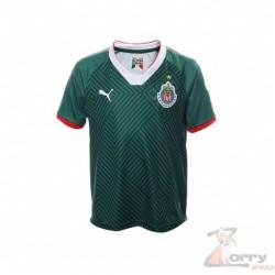 Jersey Puma de Chivas Verde De Visitante