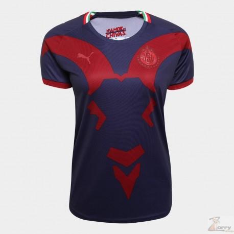 Jersey Puma de Chivas para Dama de Visitante